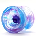 Yoyo Wedge Bleu/Violet