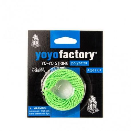 5 ficelles vertes - YoyoFactory